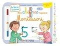Mélisande Luthringer - Mes chiffres rugueux Montessori. 3-6 ans - Avec 1 feutre effaçable 2 couleurs.