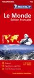 Michelin - Le monde - Edition française 1/28 500 000.