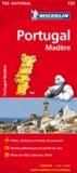 Michelin - Portugal Madère - 1/400 000.