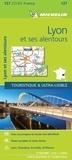 Michelin - Lyon et ses alentours - 1/150 000.