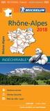 Michelin - Rhône-Alpes - 1/200 000.