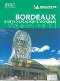 Michelin - Bordeaux - Bassin d'Arcachon & vignobles. 1 Plan détachable