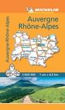 Michelin - Auvergne Rhône-Alpes - 1/450 000.
