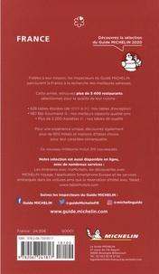 Le guide Michelin France  Edition 2020