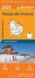 Michelin - Hauts-de-France - 1/200 000, indéchirable.