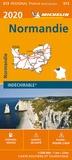 Michelin - Normandie - 1/200 000, indéchirable.