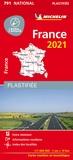 Michelin - France - 1/1 000 000, plastifiée.