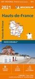 Michelin - Hauts-de-France - 1/200 000.