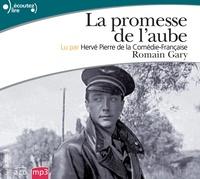 Romain Gary - La promesse de l'aube. 2 CD audio MP3
