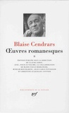 Blaise Cendrars - Oeuvres romanesques Tome 2.