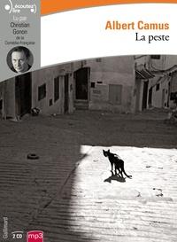 Albert Camus - La peste. 2 CD audio MP3