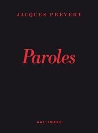 Jacques Prévert - Paroles.