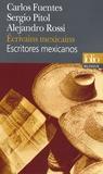 Carlos Fuentes et Sergio Pitol - Ecrivains mexicains - Edition bilingue français-espagnol.