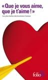 """Edmond Rostand et Paul Verlaine - """"Que je vous aime, que je t'aime !"""" - Les plus belles déclarations."""