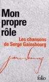 Serge Gainsbourg - Mon propre rôle - Les chansons de Serge Gainsbourg, Coffret en 2 volumes.