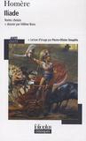 Homère - Iliade - Textes choisis.