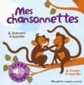 Mes chansonnettes : 6 chansons à écouter / Elsa Fouquier   Fouquier, Elsa. Illustrateur