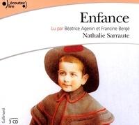 Nathalie Sarraute - Enfance. 3 CD audio