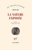 La nature exposée / Erri De Luca | De Luca, Erri (1950-....)