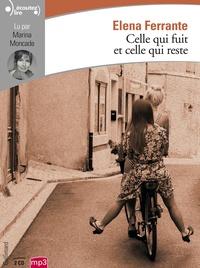 Elena Ferrante - L'amie prodigieuse Tome 3 : Celle qui fuit et celle qui reste. 2 CD audio MP3