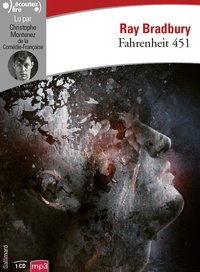 Ray Bradbury - Fahrenheit 451. 1 CD audio MP3