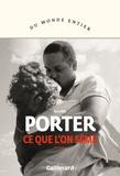 Ce que l'on sème / Regina Porter   Porter, Regina