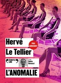 Hervé Le Tellier - L'anomalie. 1 CD audio MP3