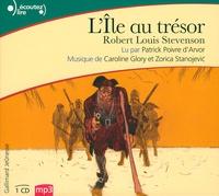 Robert Louis Stevenson - L'île au trésor. 1 CD audio MP3