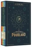 J.K. Rowling - La bibliothèque de Poudlard - Coffret en 3 volumes : Le quidditch à travers les âges ; Les animaux fantastiques ; Les contes de Beedle le barde.