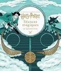 J-K Rowling - Harry Potter Séances magiques - Le Quidditch.