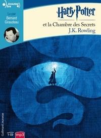 J.K. Rowling - Harry Potter Tome 2 : Harry Potter et la chambre des secrets. 1 CD audio MP3