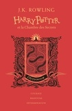 J.K. Rowling - Harry Potter Tome 2 : Harry Potter et la chambre des secrets (Gryffondor).