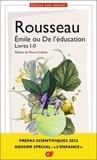 Jean-Jacques Rousseau et Pierre Crétois - Emile ou De l'éducation - Livres I-II.