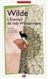 Oscar Wilde - L'éventail de Lady Windermere.