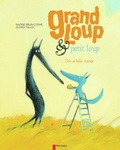 Grand loup et petit loup : Une si belle orange / Nadine Brun-Cosme, Olivier Tallec | Brun-Cosme, Nadine