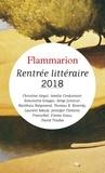 Christine Angot et Simonetta Greggio - Catalogue Flammarion - Rentrée littéraire 2018.