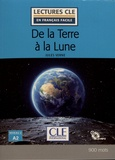 Jules Verne - De la Terre à la Lune. 1 CD audio MP3