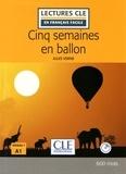 Jules Verne - Cinq semaines en ballon. 1 CD audio