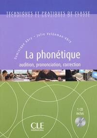 Dominique Abry et Julie Veldeman-Abry - Phonétique. 1 CD audio