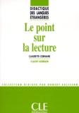 Claudette Cornaire - Le point sur la lecture.