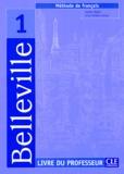 Audrey Ndata et Anne Veillon-Leroux - Belleville 1 - Livre du professeur.