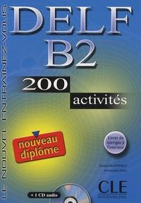 Anatole Bloomfield et Emmanuelle Daill - Nouveau DELF B2. 1 CD audio