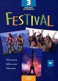 Sylvie Poisson-Quinton et Michèle Mahéo-Le Coadic - Festival 3 - Tome 3, Livre de l'élève.