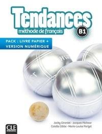 Jacky Girardet et Jacques Pécheur - Tendances B1 - Méthode de français livre papier + version numérique.
