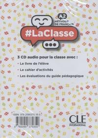 Méthode de français #LaClasse A2  3 CD audio