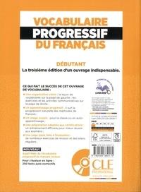 Vocabulaire progressif du français. A1 débutant 3e édition -  avec 1 CD audio