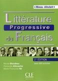 Nicole Blondeau et Ferroudja Allouache - Littérature progressive du français - Niveau débutant. 1 CD audio