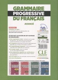 Grammaire progressive du français avancé B1 B2 3e édition -  avec 1 CD audio