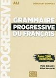 Maïa Grégoire et Alina Kostucki - Grammaire progressive du français débutant. 1 CD audio MP3