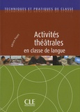 Adrien Payet - Activités théâtrales en classe de langue.